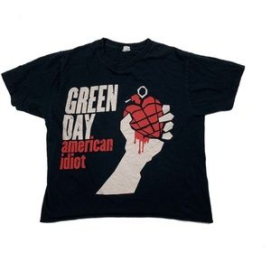 Green Day American Idiot Women's Graphic Tee Shirt